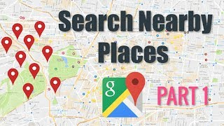 Google Maps Nearby Places Tutorial  |  PART 1  ( Android Tutorials ) Free HD Video
