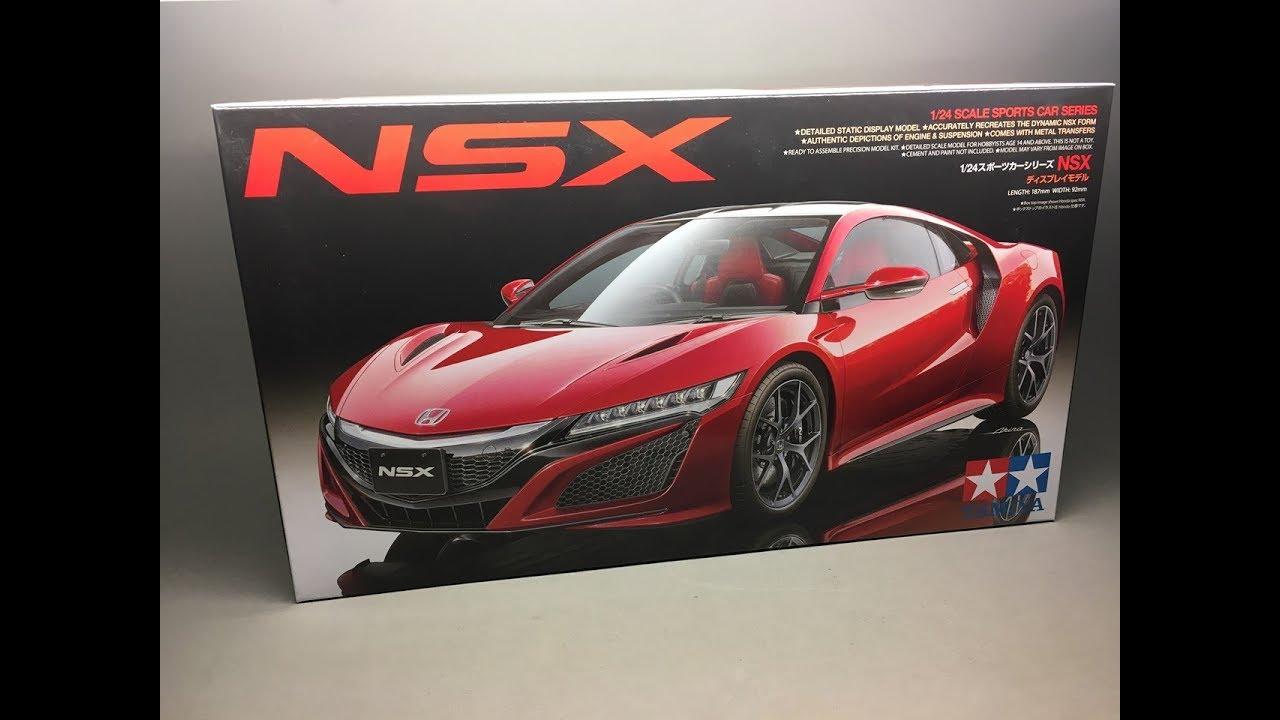 Unboxing: Tamiya Honda/Acura NSX