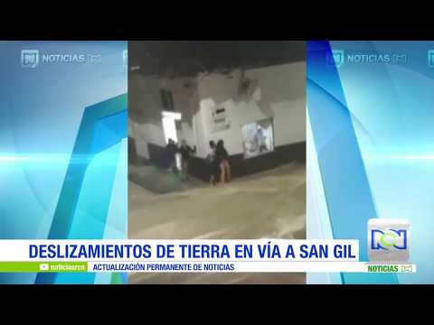 Videos De Ciudadanos Muestran La Gravedad De La Situación En San Gil, Santander