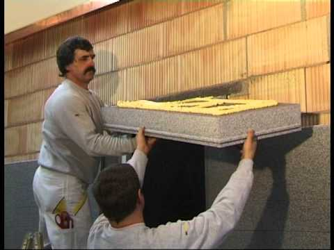 Application And Installation Of An External Wall