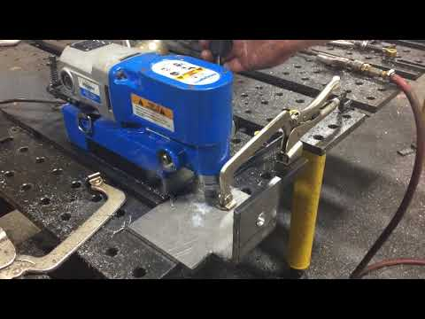 Metal Shop Fabrication - Punching Holes in Steel Angles Clemson Architecture