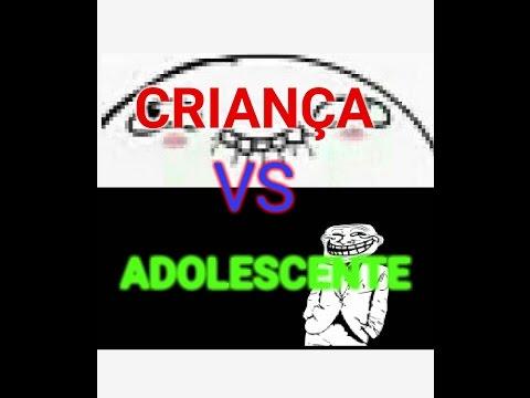 CRIANÇA VS ADOLESCENTE- MACHINMA