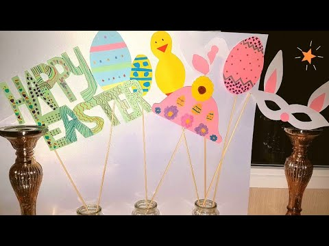 How to make Easter Decorations and Props