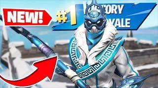 'NEW' SNOWFOOT Fortnite Skin GAMEPLAY Fortnite Battle Royale! (Fortnite saison 7)