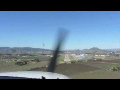 Taking OffLanding at San Luis Obispo Airport