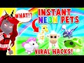 Testing Out The Most INSANE Viral Hacks In Adopt Me! Do These Hacks Really Work? Roblox