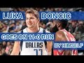 How Luka Doncic went on his own 11-0 run to help beat the Rockets