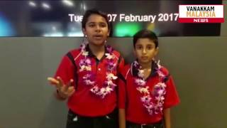 SJKT Buluh Akar Students Won Silver Medal - Thailand Science Invention