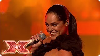 Tracyleanne Jefford takes on Written In The Water | Live Shows | The X Factor 2017