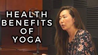 Health Benefits of Yoga, Styles, Classes   WellnessPlus PodCast Julia Bennett