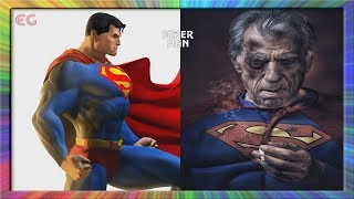 Superheros As Old | Marvel & DC Comic Characters As Old