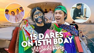 15 DARES On My 15th BIRTHDAY!! (Extreme!) | Ranz and Niana