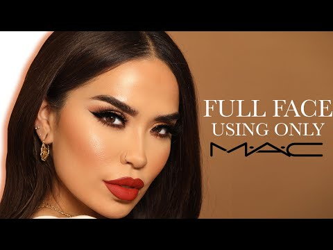 FULL FACE OF MAC COSMETICS | Iluvsarahii