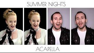 Summer Nights - Grease [SATB Acapella Cover by Julie Gaulke & Stefan Wyatt]