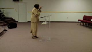 "Pastor Sabrina Sutton ""Our Position in Christ Jesus"""