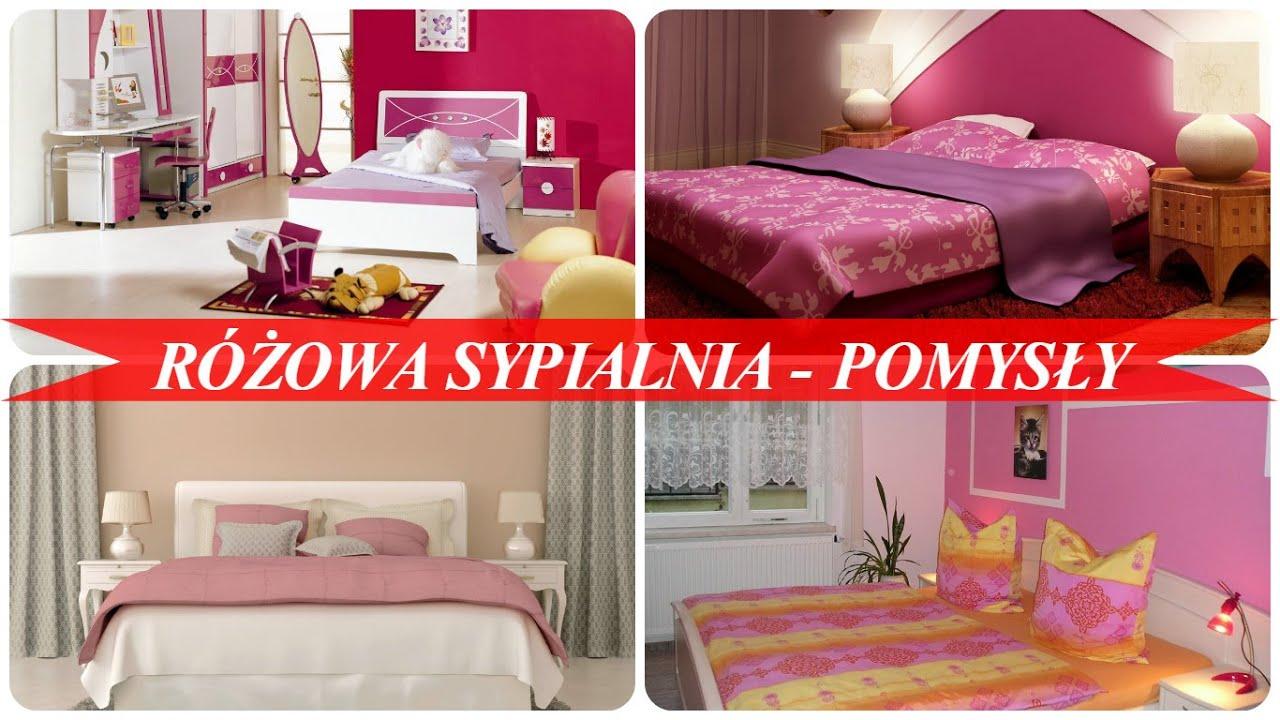 Różowa Sypialnia Pomysły