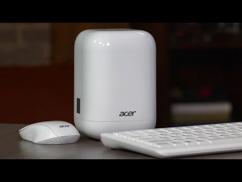 The Acer Revo is a living room desktop you won't have to hide