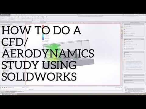 How to do a CFD Aerodynamics Study in Solidworks - Car Flow Simulation Tutorial