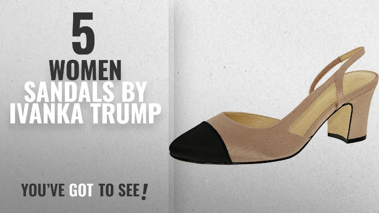 76a813c5ba Top 5 Ivanka Trump Women Sandals [2018]: Ivanka Trump Women's Liah 4 ...