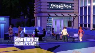 The Sims 3 Town Life Stuff Trailer