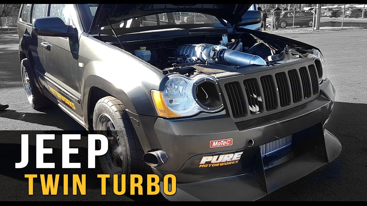 Grand Cherokee Srt8 >> Twin turbo AWD JEEP - YouTube