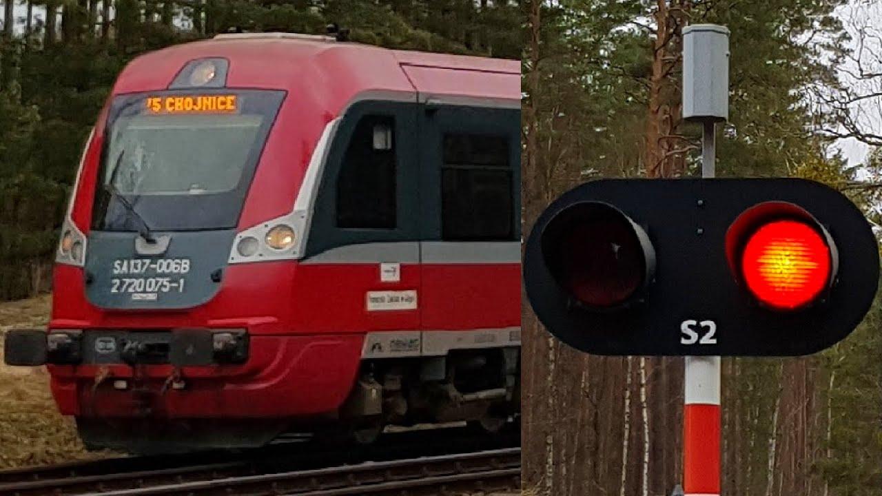 SSP Nieżurawa k. Czerska | Polish railroad crossing