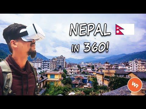 Nepal In VR 360 (World Race)
