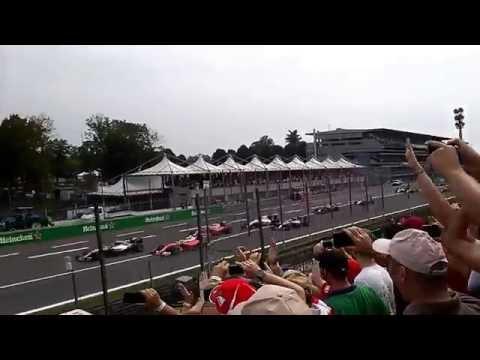 F1 2016 Monza - Tribuna Piscina: Partenza