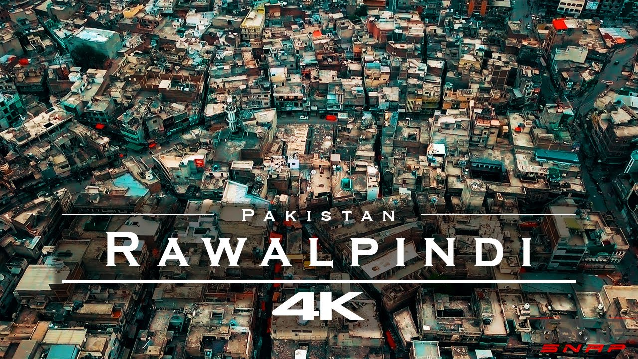 Rawalpindi, Pakistan 🇵🇰 - by drone [4K]
