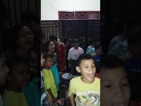 Mlm Takbiran anak2 Nalo.. 24 juni 2017