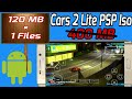 (120 MB) Cars 2 Lite Version Highly Compressed PSP Iso Download For Android // Hindi