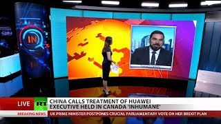 China Demands Release of Jailed Huawei Executive