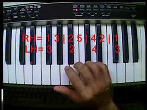 Get Piano Lesson 7 (Part Two) 1st Two-Hand Piano Exercises