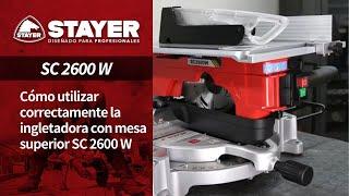 Ingletadora SC2600W