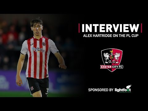 💬 Alex Hartridge on the Premier League Cup | Exeter City Football Club