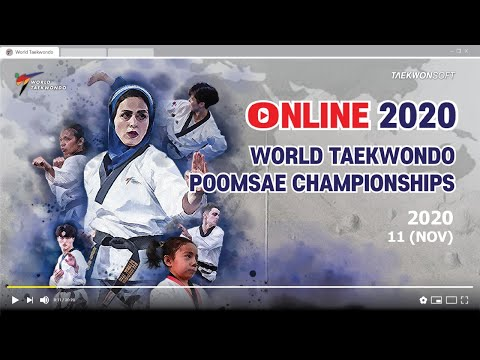 Day2 - individual [M] & [F] Under 60 Final of The Online 2020 WT Poomsae Championships