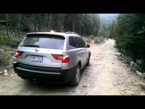 2005 BMW X3 Off Road in Colorado at Devil's Canyon