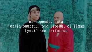 pyhimys ft. vesta - kynnet, kynnet lyrics