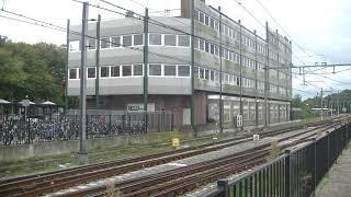 Mat 54 766 komt aan op station Hoorn