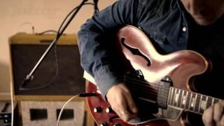 Vintage Gibson ES-330 & 1956 Fender Tweed 5E4-A Super clean tone demo
