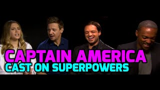Captain America: Civil War cast on everyday superpowers & good reviews!