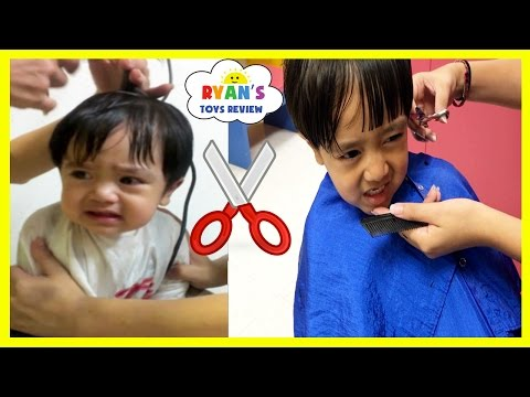 Thumbnail: BABY'S FIRST HAIRCUT flashback+ Kid Haircut Toys Trains Firetruck Ride On Car for Kids Video
