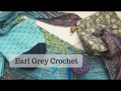 Loving my Blurre Shawl!!  //  April Update  //  Earl Grey Crochet
