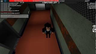 saga de juegos de terror P3 FLEE RHE FACILITY (ROBLOX)