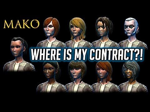 SWTOR: Why the heck can I not get my Mako back