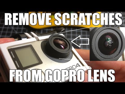 GoPro HERO Camera Lens Repair – Remove Scratches 🛠️