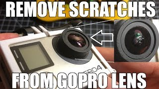 GoPro HERO Camera Lens Repair - Remove Scratches 🛠️