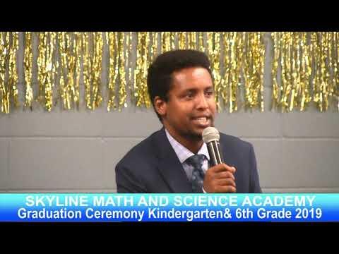 Skyline Academy Graduation Ceremony Kindergarten& 6th Grade 2019