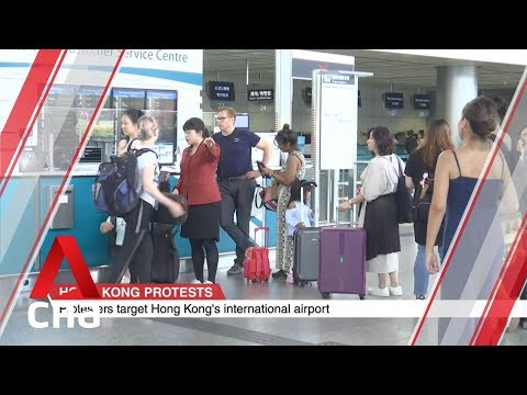 Passengers heading to Hong Kong airport stranded as Airport Express is suspended