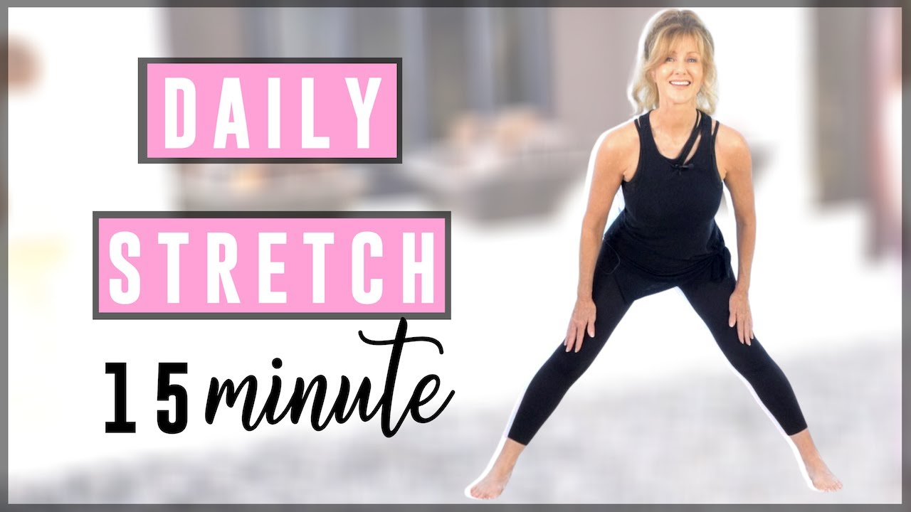 15 Minute Full Body Stretching Routine!